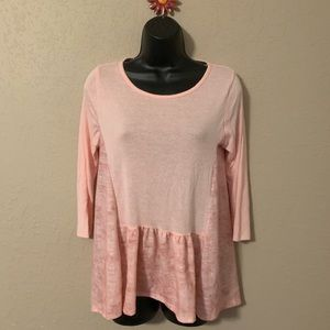 🎈3/$18🎈 Altar'd State pink top